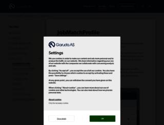 jobmatchprofile.com screenshot