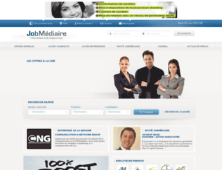 jobmediaire.ma screenshot