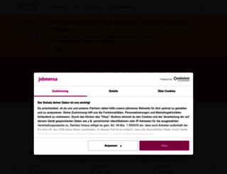 jobmensa.de screenshot