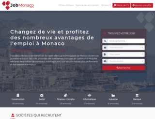 jobmonaco.com screenshot