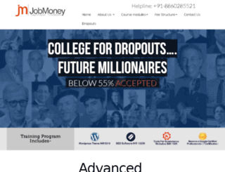 jobmoney.in screenshot