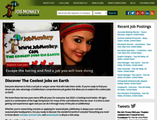 jobmonkey.com screenshot