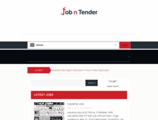 jobntender.com screenshot