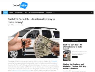 jobofmine.com screenshot