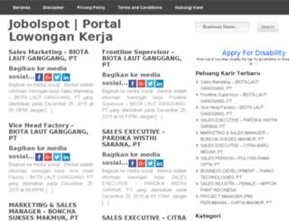 jobolspot.com screenshot