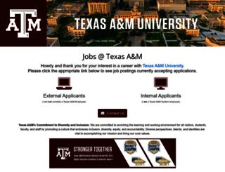 jobpath.tamu.edu screenshot