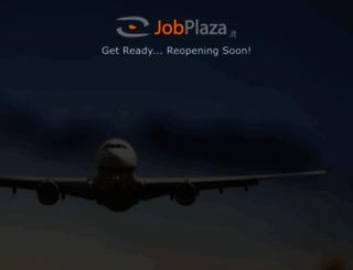 jobplaza.it screenshot