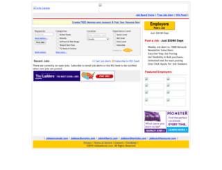 jobpostcanada.jobthread.com screenshot