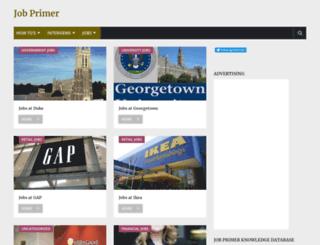 jobprimer.com screenshot