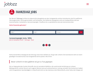 jobs-autotechnik-chauffeure.ch screenshot