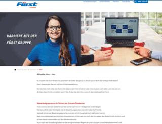 jobs-bei-fuerst.de screenshot
