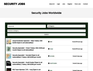 jobs-security.com screenshot