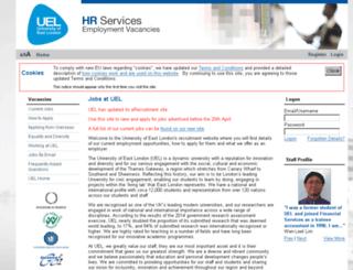 jobs-vm.uel.ac.uk screenshot