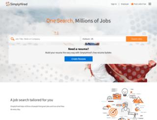 jobs.abovethelaw.com screenshot