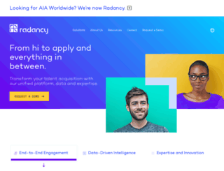 jobs.aia.co.uk screenshot