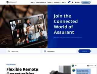 jobs.assurant.com screenshot