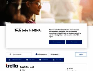 jobs.astrolabs.com screenshot