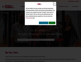 jobs.bendigobank.com.au screenshot