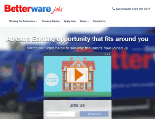 jobs.betterware.co.uk screenshot