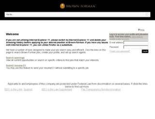 jobs.brown-forman.com screenshot