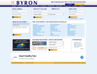 jobs.byron.com.au screenshot