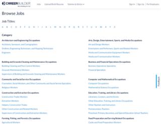 jobs.careerbuilder.com screenshot
