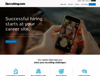jobs.carterbloodcare.org screenshot