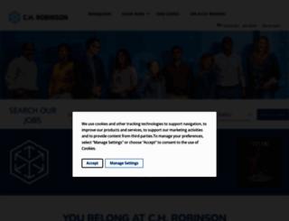 jobs.chrobinson.com screenshot