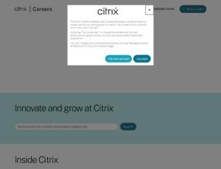 jobs.citrix.com screenshot
