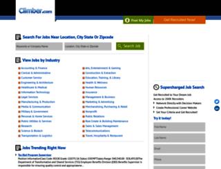 jobs.climber.com screenshot