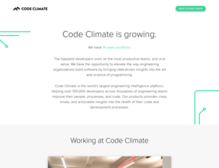 jobs.codeclimate.com screenshot