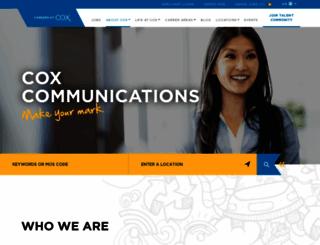 jobs.cox.com screenshot