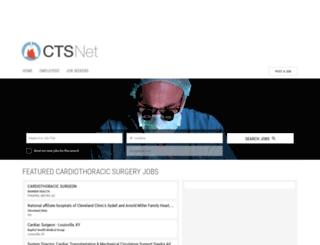 jobs.ctsnet.org screenshot