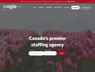 jobs.eagleonline.com screenshot