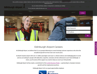 jobs.edinburghairport.com screenshot