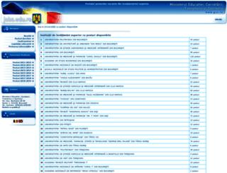 jobs.edu.ro screenshot