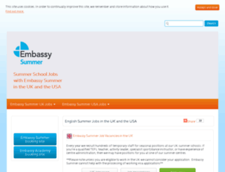 jobs.embassysummer.com screenshot