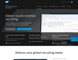 jobs.evhc.net screenshot
