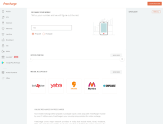 jobs.freecharge.com screenshot