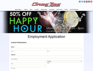 jobs.gametimeplayers.com screenshot