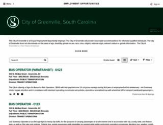 jobs.greenvillesc.gov screenshot