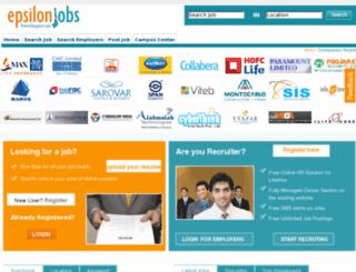 jobs.gujarat.com screenshot