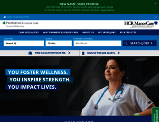 jobs.hcr-manorcare.com screenshot