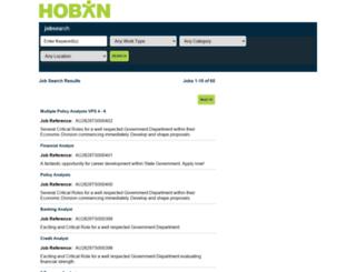 jobs.hoban.com.au screenshot