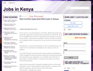 jobs.hotkenyanjobs.com screenshot
