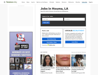 jobs.houmatoday.com screenshot