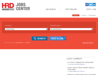jobs.hrmamerica.com screenshot