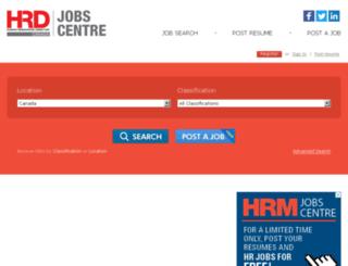 jobs.hrmonline.ca screenshot