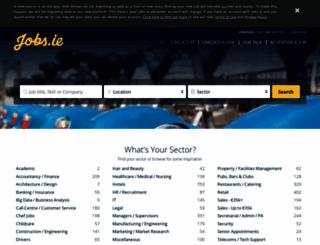 jobs.ie screenshot