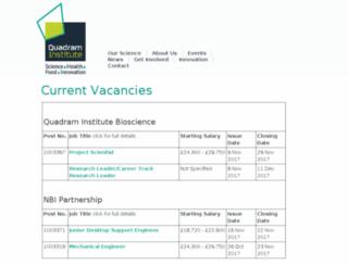 jobs.ifr.ac.uk screenshot